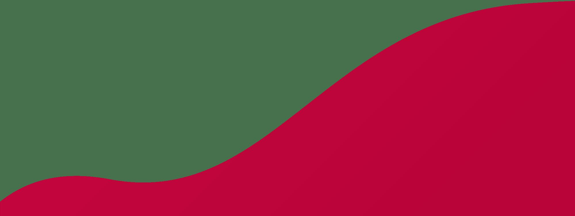 Rote Form als Hintergrund